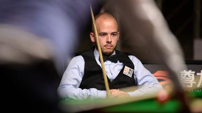 Luca Brecel grijpt naast kwartfinale European Masters snooker in Lommel