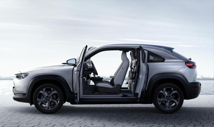 De elektrische Mazda MX-30 krijgt 'zelfmoorddeuren'