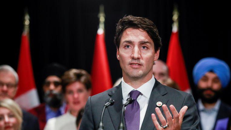 Afbeeldingsresultaat voor Justin Trudeau in opspraak