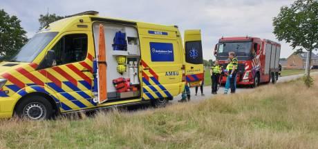 Personen raken te water bij Hengelo Gezondheidspark: één gewonde