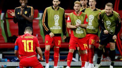 """Grootser dan Neymar: Hazardinho: """"Ik zie je half juli in Moskou"""""""