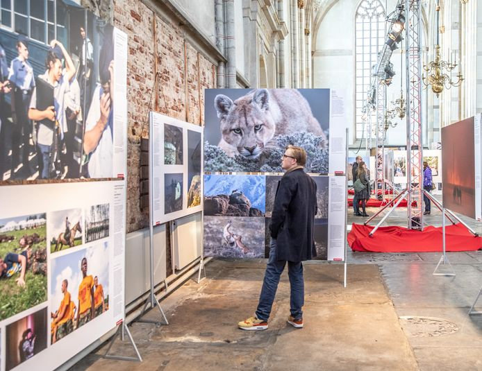 DS-2019-8480Zwolle World Press Photo expositie in de Grote Kerk FotoPersBuro Frans Paalman Zwolle ©2019