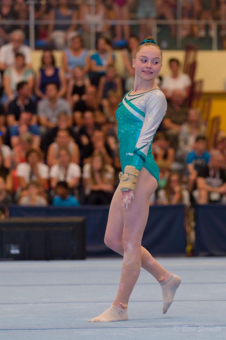 Gymnaste Jade Vansteenkiste