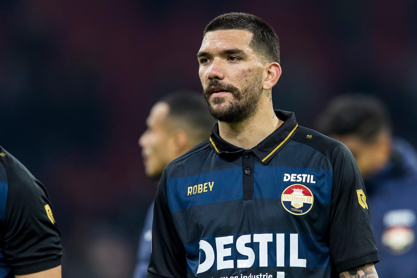 Dimitris Kolovos scoorde tegen Feyenoord 2 voor de reserves van Willem II.