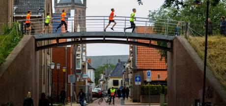 Vooral brugklassers rennen over Steenwijker vestingwallen