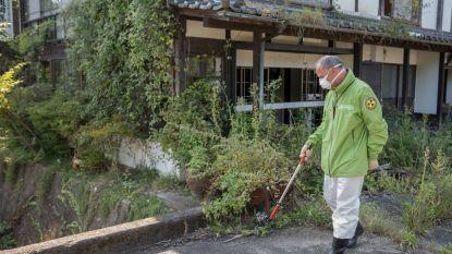 Hoge straling in Fukushima blijft risico voor terugkerende bewoners