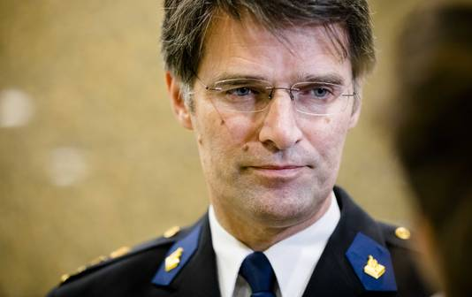 Erik Akerboom, hoofdcommissaris van de Nationale Politie.