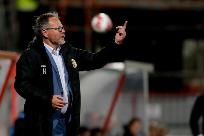 Cambuur-coach Henk de Jong.