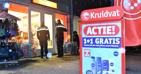 Politie zoekt overvaller kruidvat moordrecht gouda for Kruidvat dordrecht