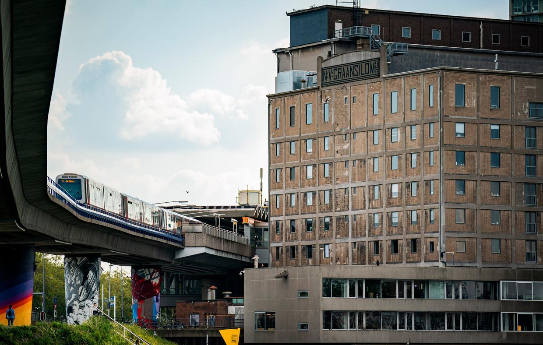 De Maassilo in Rotterdam, een van de beoogde locaties voor de Cultuurcampus. Beeld Freek van den Bergh / de Volkskrant