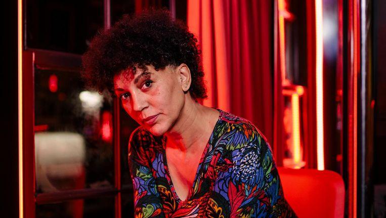 Nayra Green: 'We tonen onze lichamen, ze nemen een foto en gaan weer weg.' Beeld Marc Driessen