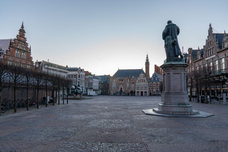 Volgens de benoemingscommissie spat de liefde voor de stad Haarlem af van Osenga's gedichten. Beeld BSR Agency