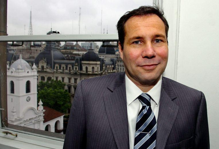 De Argentijnse aanklager Alberto Nisman die president Kirchner vorige week beschuldigde van belemmering van de rechtsgang, is zondagavond dood aangetroffen. Beeld epa