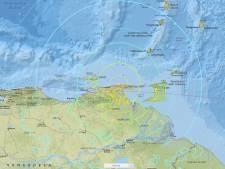 Zware aardbeving voor kust van Venezuela