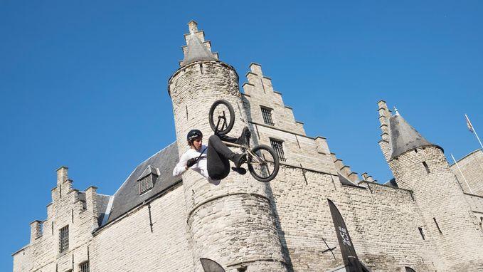 Spektakel op Antwerp City Drops