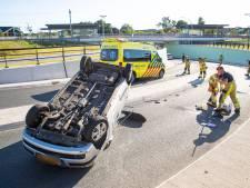 Automobilist gewond na ongeval in tunnel bij station Zwolle Stadshagen