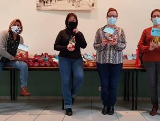 Sint trakteert Liberale Dames op chocolade