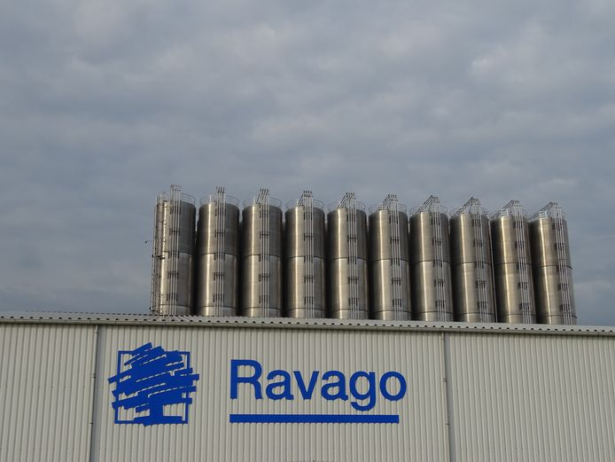 Silo-opslag Ravago aan Savoyaardsweg, Terneuzen