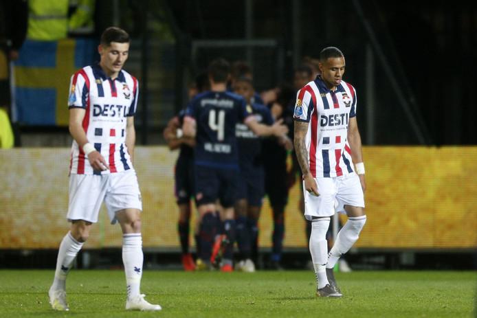 De spelers van Willem II leken met hun hoofd vooral bij de bekerfinale tegen Ajax van volgende week.
