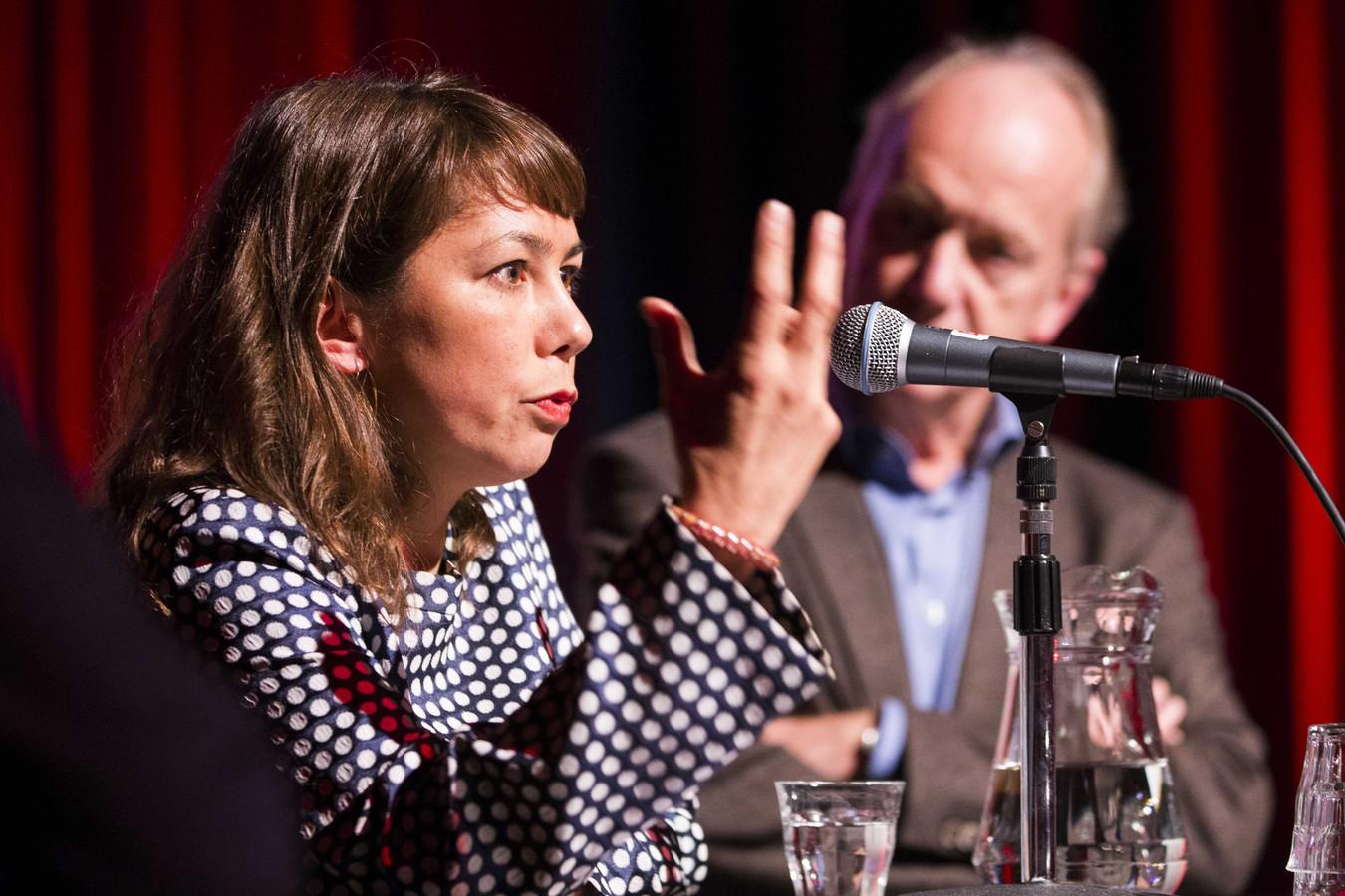 Mei Li Vos, een van de initiatiefnemers van KoopdeHema.