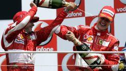 """""""De situatie van Michael Schumacher is complex"""", maar Massa hoopt hem ooit nog op circuit te zien"""