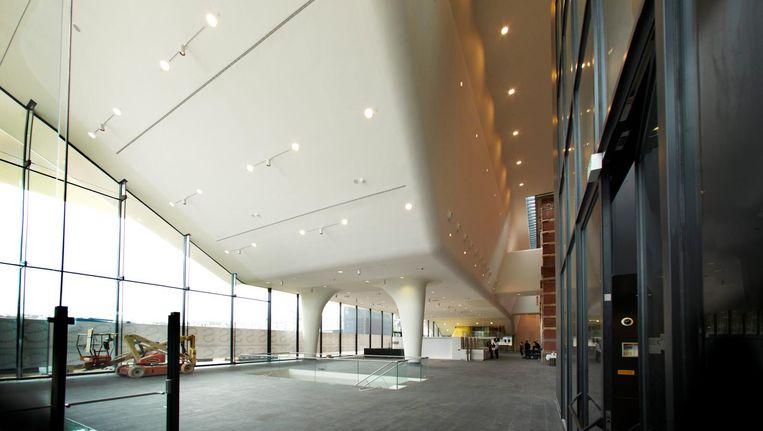 De nieuwe luifel in 2012, na de afronding van de vernieuwing Beeld Mark Kohn/De Beeldunie