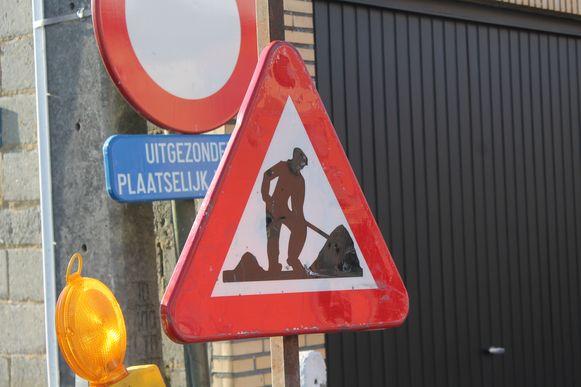 Illustratiebeeld wegenwerken.
