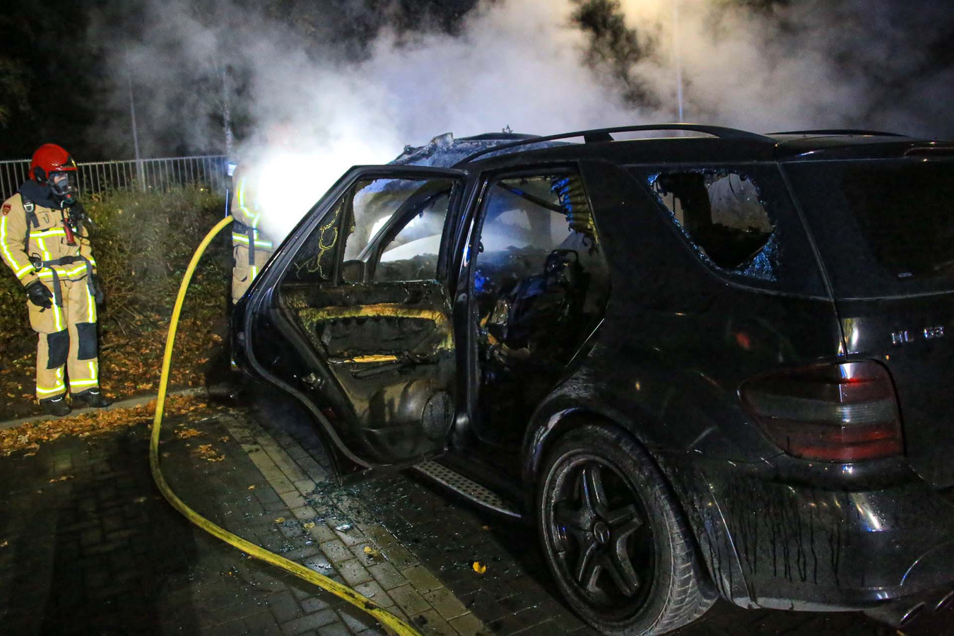 Autobrand in Helmond