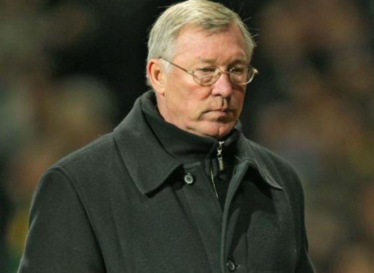 Manchester-coach Alex Ferguson. EPA Beeld