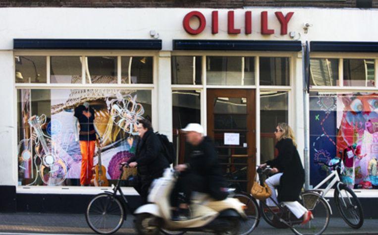 Oilily, gevestigd in Amsterdam-Noord, is begin deze maand failliet verklaard door de rechter, nadat de modeketen eerder uitstel van betaling had aangevraagd. Foto ANP Beeld
