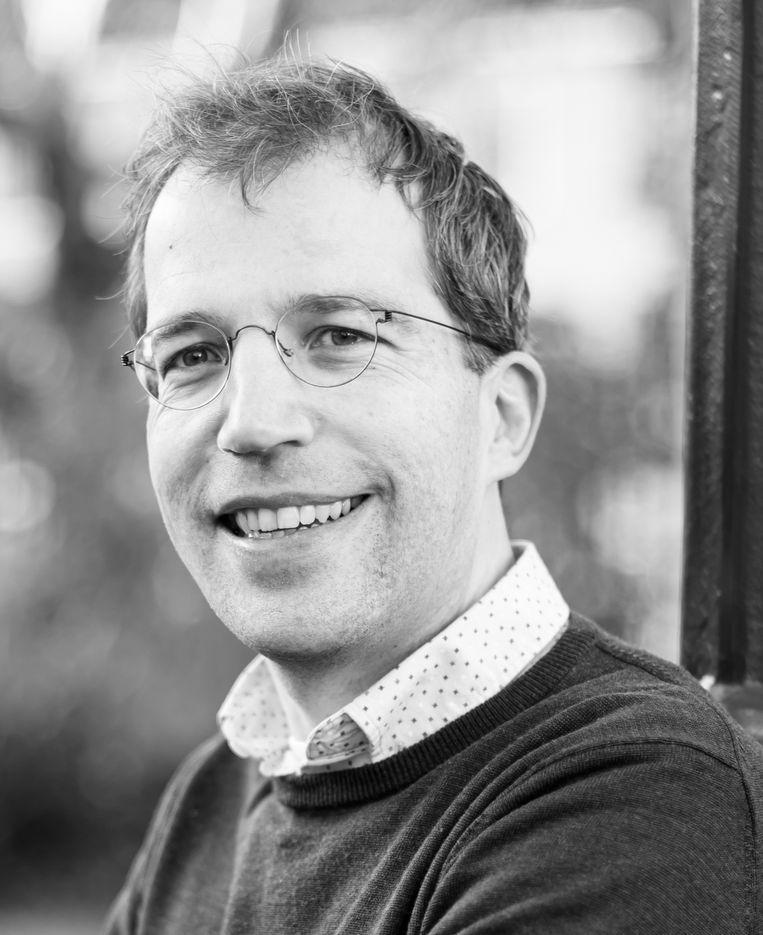 Tim Vreugdenhil, predikant bij de Protestantse Kerk Amsterdam. Beeld