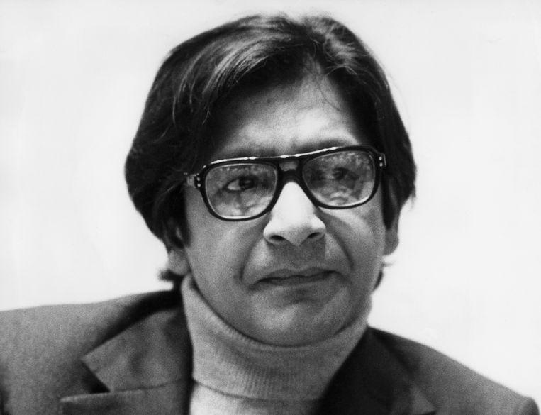 Schrijver en Nobelprijswinnaar V.S. Naipaul (1973).  Beeld AFP