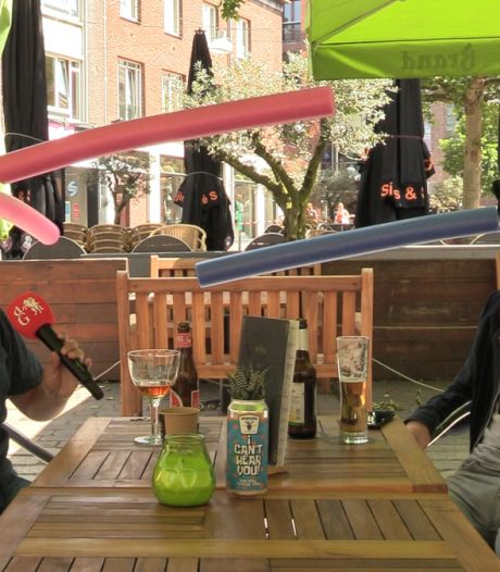 Met je poolnoodlehoed veilig op het terras een biertje drinken?