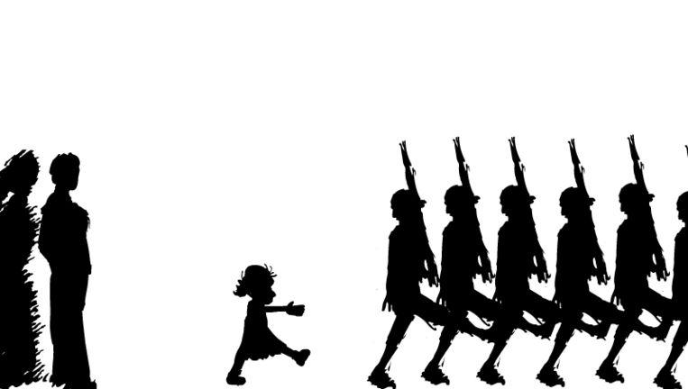 null Beeld Beeld uit een van de animaties bij het verrijkte e-book/ Marcel van der Drift