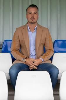 Nieuwe voorzitter 'broekie' Bas Brokking (29) gelooft in toekomst Voetbalvereniging Schelluinen