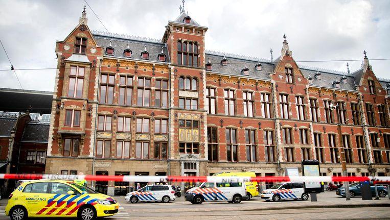 Amsterdam Centraal na de terreurdaad Beeld ANP