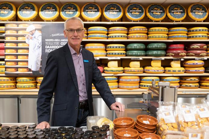 Jos Slutter, bedrijfsleider van Albert Heijn XL: ,,Toen we op zondag nog om elf uur openden, misten we het 'ontbijtmoment'.''