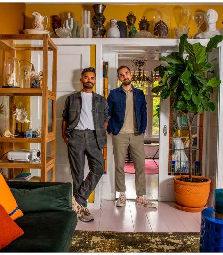 Sharvin en Maarten wonen in een minimuseum, tussen  exotische maskers en een slang op sterk water