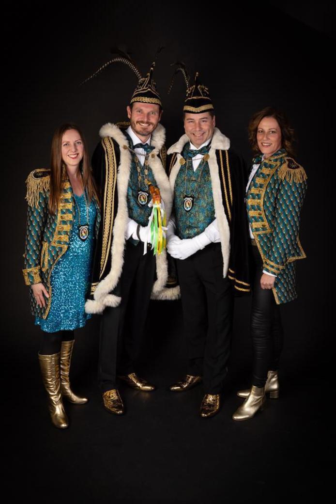 De nieuwe heersers over Schorsbos