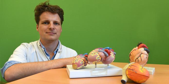 Giel van Helden, cardioloog in het Maasziekenhuis.