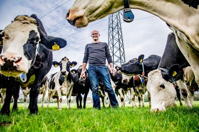 Gerard Elshof uit Laag Zuthem noemt zichzelf 'een heel gemiddelde boer'.