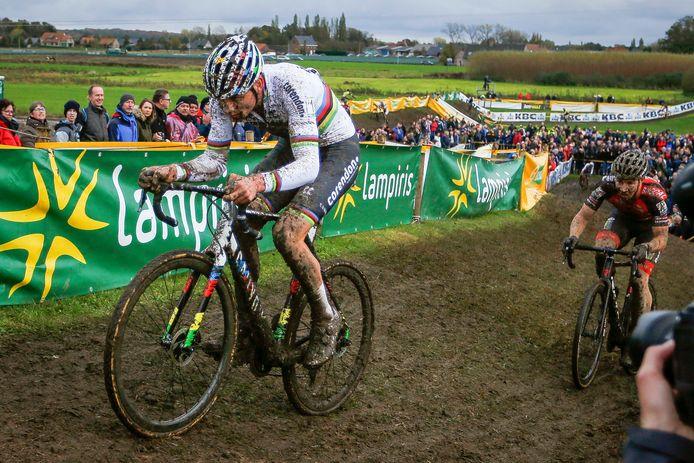 Cyclocrossers zullen elkaar wel degelijk bekampen in Ruddervoorde, maar dan zonder toeschouwers.
