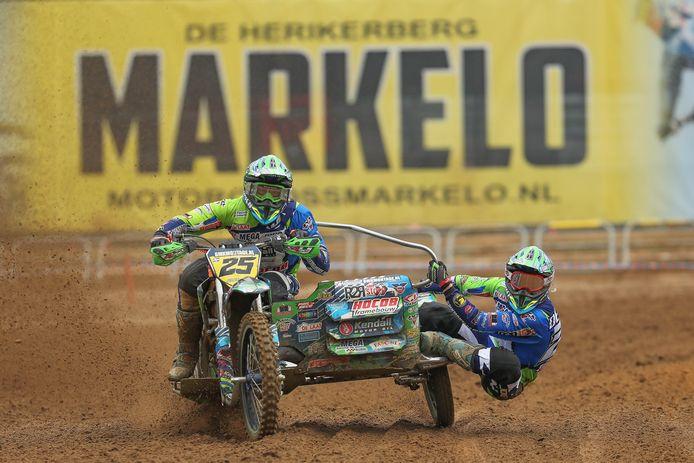 De Herikerberg van Markelo is in 2021 opnieuw het decor van de strijd om de wereldtitel bij de zijspancrossers.