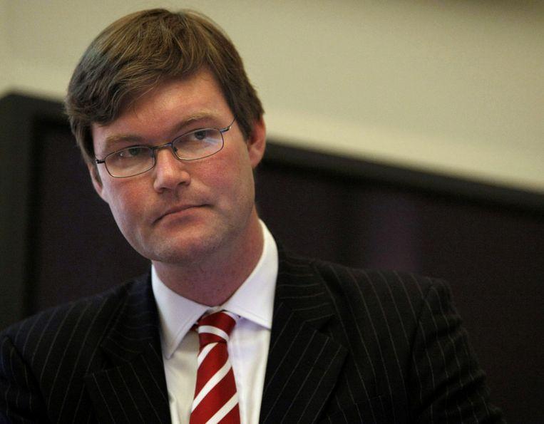 Jan Maarten Slagter vocht menig robbertje uit met KPMG. Beeld ANP