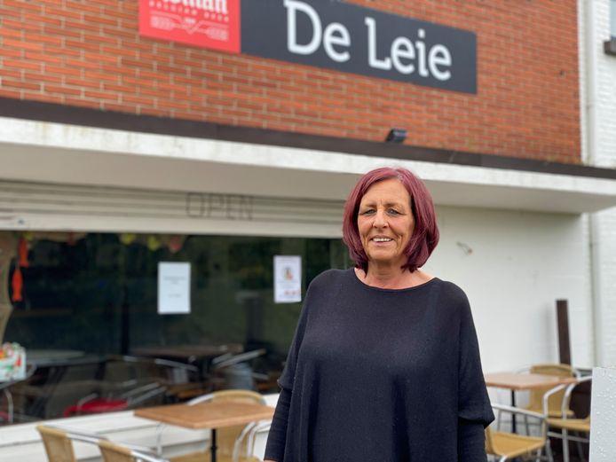 Nancy van Café De Leie in Drongen.