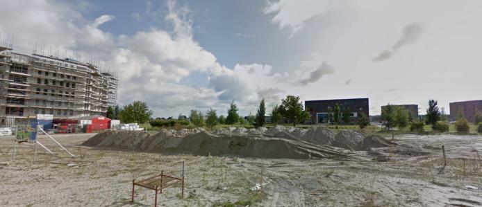 De toekomstige plek van basisschool Odyssee