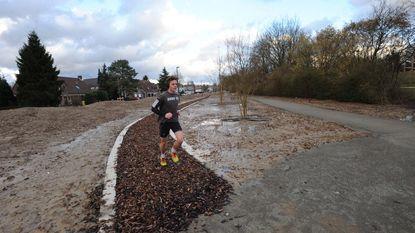 Nieuwe Finse piste bezorgt joggers natte voeten