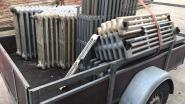 Politie controleert aan containerparken: 33 aanhangwagens niet in orde