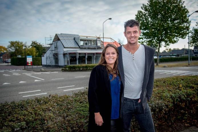 Denise Heyes en haar man Edwin.