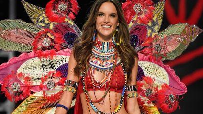 Alessandra Ambrosio hangt haar Victoria's Secret-vleugels aan de haak
